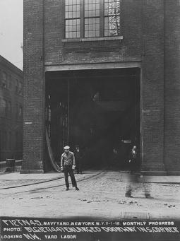Photo: Brooklyn Navy Yard Development Corporation Archives www.building92.org Thanks to www.freightrrofnyc.info
