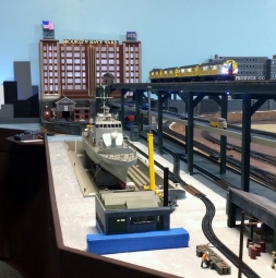 Model of the Yard by Central Operating Lines in Bohemia, NY