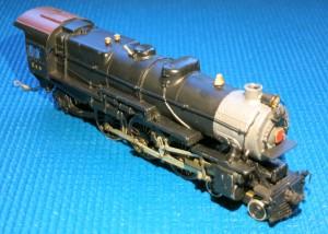 Pennsylvania RR K-4 Pacific Locomotive